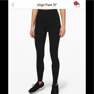 """Lululemon Align Pant 31"""""""